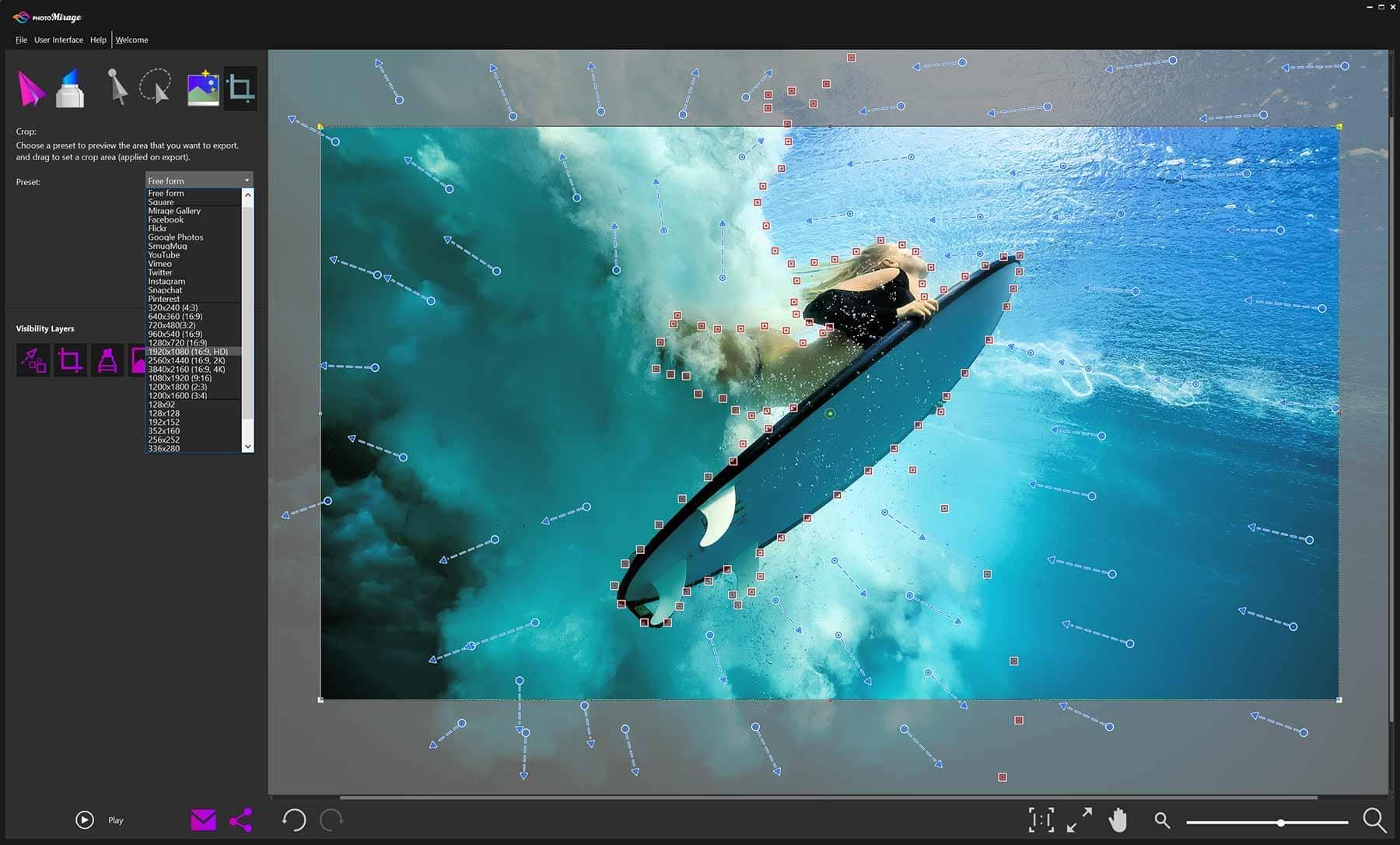 PhotoMirage - Photo Animation Features